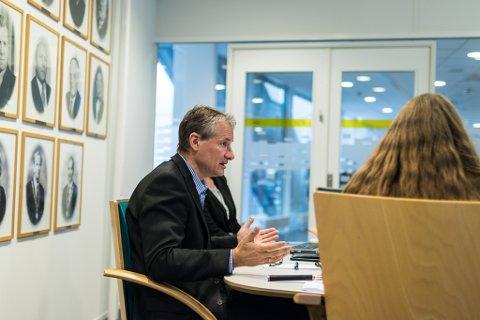 FLYTTEKLAR: Ordførar Olve Grotle (H) og resten av formannskapet i Førde vil la Sogn og Fjordane teater halde fram i prosessen med Nynorskhuset.