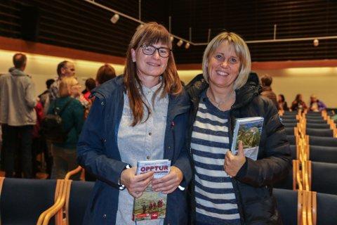 GÅR TUR SAMAN: Venninnene Siv Thorsen og May Helen Hagenes går ofte tur saman. – Vi har ikkje tal på kor mange turar vi har gått, fortel damene.
