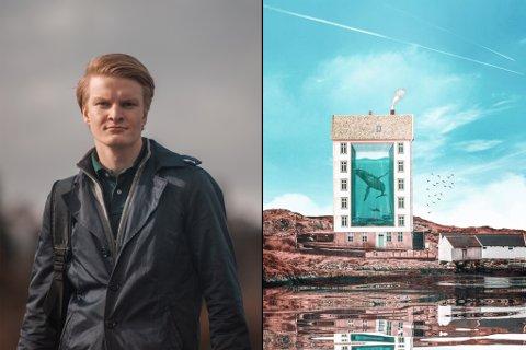 LEGG SJEL I INSTAGRAM: Øyvind Engevik frå Hardbakke i Solund legg ut det mange vil kalle unike bilde på Instagram.