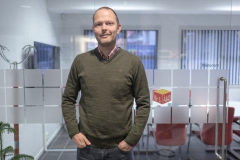 KJØPT NYTT FIRMA: Åsen & Øvrelid vil styrke posisjonen sin i Møre og Romsdal. No har dei kjøpt opp firma med 46 tilsette, fortel dagleg leiar Finn Ove Øen.