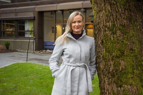 BYGGINGENIØR: Kathrine Hopland Bruland går tredje og siste året på byggingeniør-utdanninga som starta opp på Førde-avdelinga av Høgskulen på Vestlandet hausten 2016.