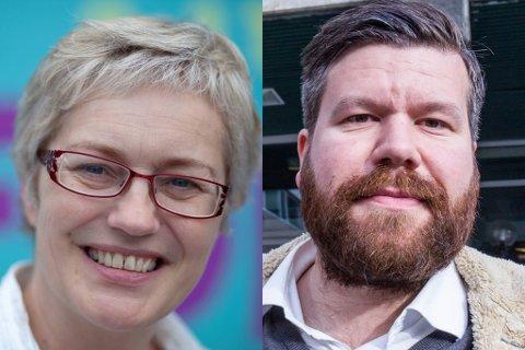 Hilde Bjørkum og Per Idar Almås.