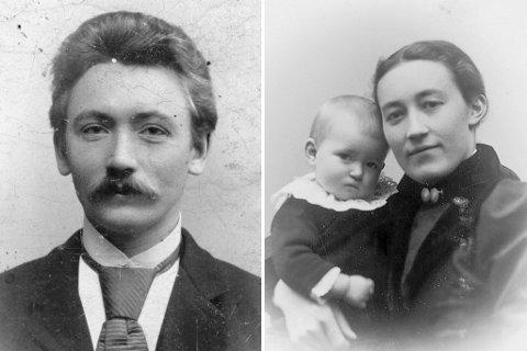 DØYDDE UNG: Mons Litleré brukte det størstedelen av det korte livet sitt på å gje ut bøker på nynorsk. Han fekk tre born med kona Bergitta Naustdal, som døydde to månader etter Mons.
