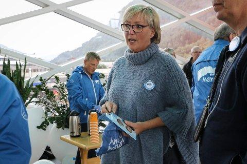 STORTINGSREPRESENTANT: Frida Melvær (H) trur fylkesutvalet har blitt farga av Nei til EUs ideologi i ACER-saka.