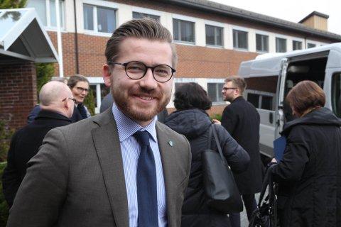 NY JOBB: Sveinung Rotevatn blir ny klima- og miljøvernminister, meiner Dagen Næringsliv å vite.