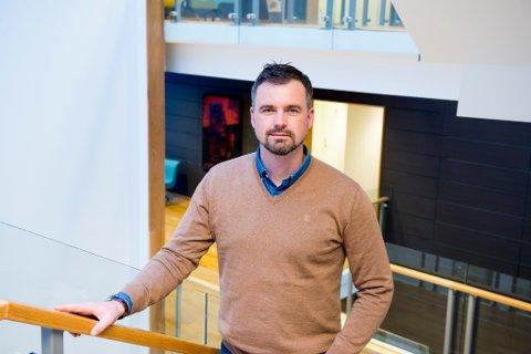 NY DIREKTØR: Henrik Nordal fekk stillinga som direktør for Lotteritilsynet.