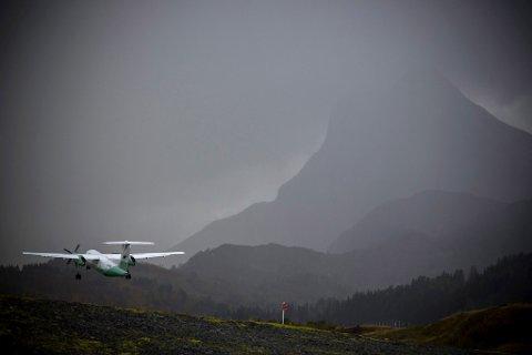 TEK AV: Frå mandag av går flya som normalt frå Bringeland lufthamn.