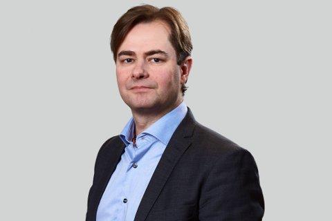 Lars Jacob Hiim er statssekretær i Kommunal- og administrasjonsdepartmentet.