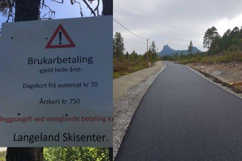 SOMMARFØRE: Rulleskibana vil føre til meir aktivitet også sommartid. Langeland ski- og fritidssenter innfører brukarbetaling heile året.