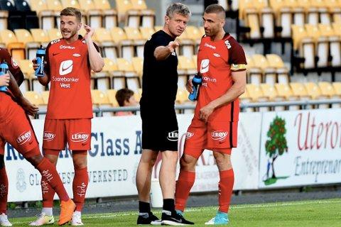 UTGÅANDE KONTRAKT: Azar Karadas frå Eid er ein av spelarane i Brann som er på utgåande kontrakt.