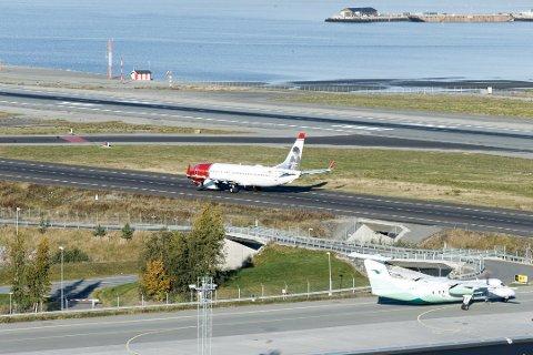 IKKJE STREIK: Det blir ikkje streik blant flyteknikarane.