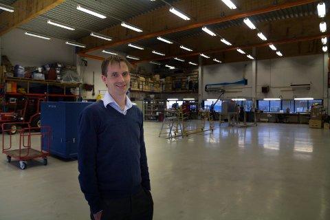 STØRRE AKTIVITET: – Kostnadene har auka som ein naturleg konsekvens av større aktivitet, seier Stian Hårklau, administrerande direktør i Airlift.