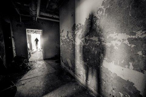 SISTE SJANSE: – Dette er siste sjanse til å sjå Harastølen sanatorium i den standen den er i no, seier Jeff Pedersen.