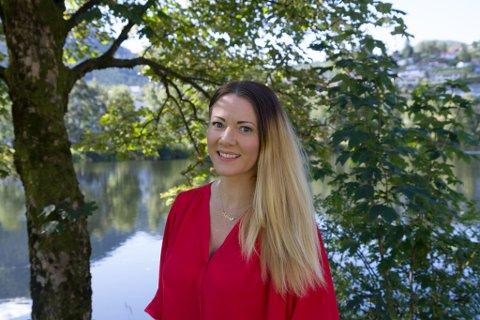 AUKAR OPPLAGET: Ingeborg Sol Fure (38) aukar opplaget på boka «100 daga utan deg» frå 500 til 3000 eksemplar.