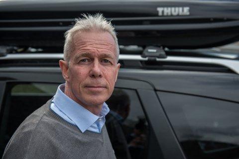 KOMMUNIKASJONSSJEF: Arne Voll i Gjensidige trur forsikringssummane berre vil stige framover, ettersom fleire melder inn båt- og bygningsskader etter uvêret.