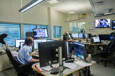 Politiet sin operasjonssentral i Florø vart lagt ned 7. november 2017.