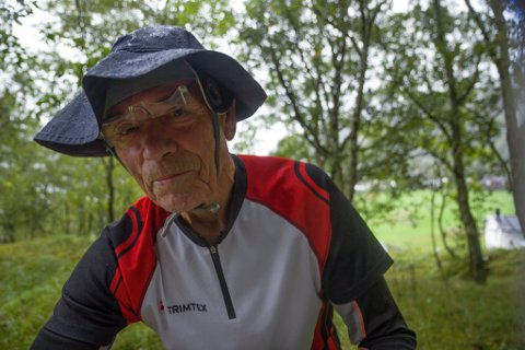 Sveinung Fristad, orientering, o-løp, Eimind, har drive med same idrett i 70 år