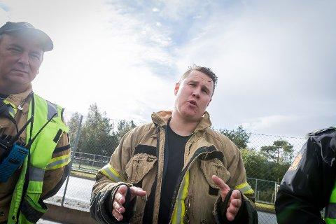 UROA: Svein Åge Renholm i Lindås, Meland og Modalen brann og redning seier det er eit uromoment med folk som går og filmar på ulukkesstader.