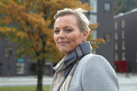 LEIAR: Anne Mette Hjelle, styreleiar i IT-Forum Sogn og Fjordane. ARKIVFOTO
