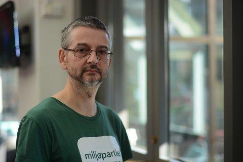 GODE TAL: Mark Taylor er MDG sin andrekandidat til Vestland fylkesting. Målinga til NRK/Sentio gir han gode sjansar for å få gjennomslag i det nye fylkestinget.