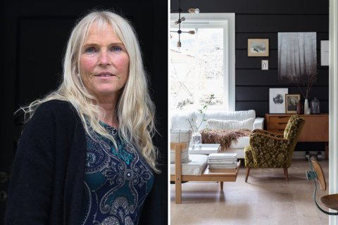STEMT FRAM: Både Nina Skjærli (t.v.) frå Naustdal og Marthe Holien Bø frå Stryn er nominerte til Vixen-prisen Årets Influencer: interiør. Bilde til høgre er frå heimen til Bø i Stryn.