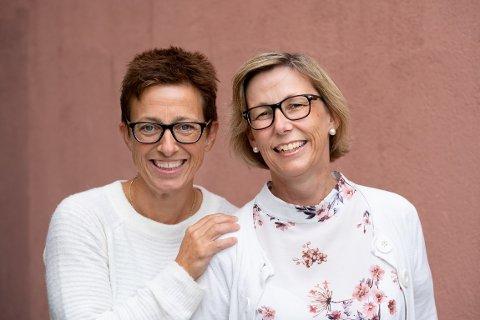 Anne-Merete Kleppenes og Hanne Almås.