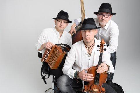POLSK GJENSYN: Trioen Kroke kjem tilbake til Førdefestivalen for tredje gong.