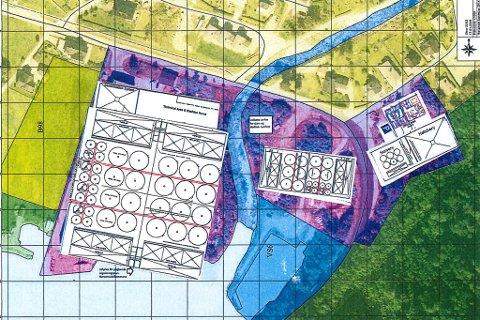 KRÅKEVIKJA: Det landbaserte klekkeriet, setjefiskanlegget og matfiskanlegget er tenkt plassert i Kråkevikja heilt aust i Vadheim.
