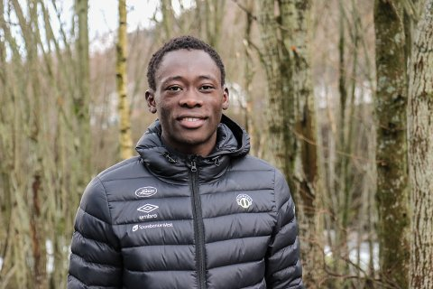 MÅTTE BETALE: Sogndal Fotball måtte betale agenten til Akor Jerome Adams då han signerte for dei.