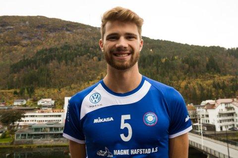 KORONASMITTA: Anders Berntsen Mol, frå tida han spelte for Førde.