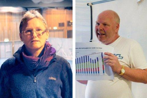 SØKJER JOBB: Aud Kari Isane og Torkel Hofseth er blant dei mange som har søkt seg ny jobb i fylkeskommunen.