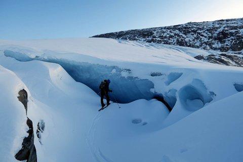 BREFALL: Både Gjegnalundsbreen og Ålfotbreen minkar i rekordfart. Om 30-40 år kan dei vere historie.