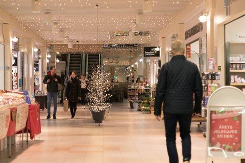 HANDEL: Slik såg det ut på kjøpesenteret Alti klokka i 07-tida fredag morgon.
