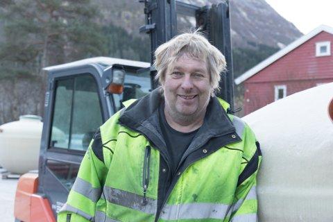 PÅ TOPPEN: Egon Hermansen frå Jølster ligg på andreplass på inntektstoppen i Jølster for 2018. Han driv firmaet Hermansen AS på Eikås.