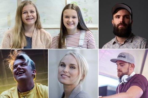 NOMINERTE: Vilde og Anna, Vilnes, Kjartan Lauritzen, Eva Weel Skram og Sjur er blant dei nominerte til årets Luttpris.