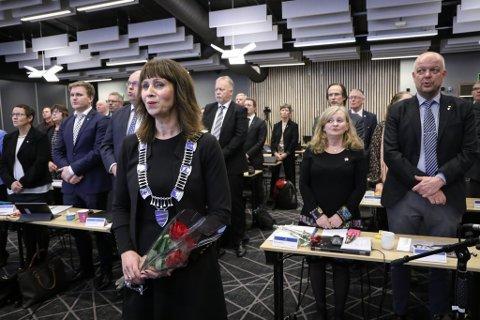 VESTLAND NESTE: Her blir fylkestinget i Sogn og Fjordane  historie.