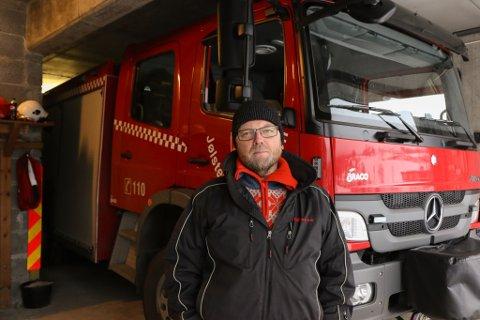 Jølster brannvern i Sunnfjord kommune, beredskap, Stig Tveit