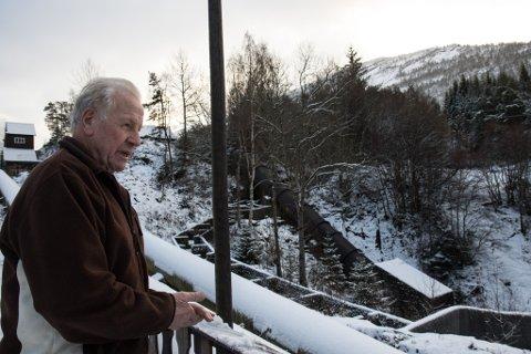 UROA: Om vi ikkje tek grep no, kan det vere slutt på laksen i Gloppeelva, seier tidlegare elveeigar Anders Søreide.