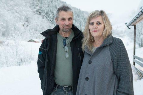 Eva og Sigmund Ramdsdal mista dottera Bjørt-Therese for elleve år sidan. Den første jula utan henne var så veldig stille.