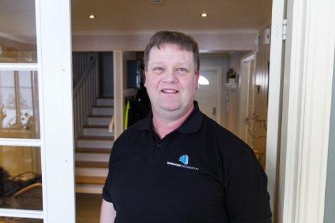 NY TAKSTMANN: Geir-Jonny Folkestad har starta som takstmann i Førde. Han skal dekke heile fylket med fokus på Sunnfjord.