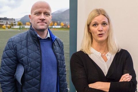 UEINIGE: Tor Starheim og Gunn Merete Paulsen.