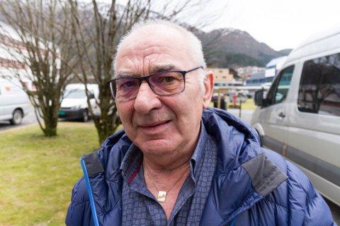 HÅPET: Leif Skår blir næraste nabo med vindmøllene. Han ber om at prosjektet blir stoppa.