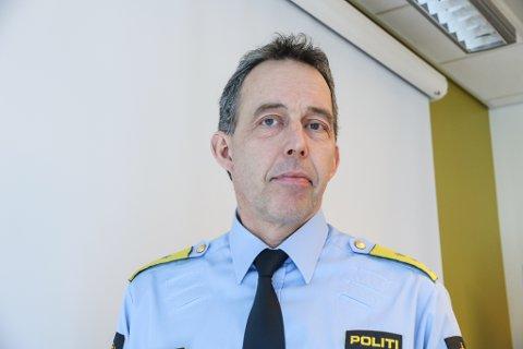 KRAV: Politimeister i Vest politidistrikt, Kaare Songstad, er pålagt å tilsette 48 nye politifolk, men det har ikkje distriktet pengar til.