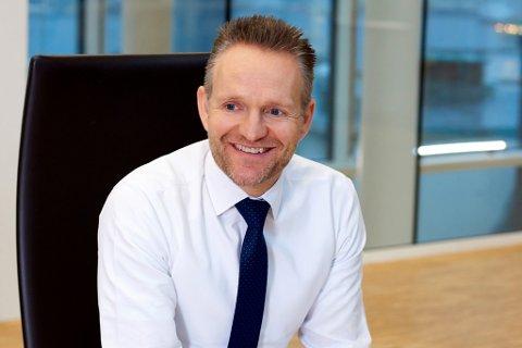 KONSERNSJEF: Jan Erik Kjerpeseth er konsernsjef i Sparebank Vest. – Målet med endre strukturen på kapitalsida er å gjere banken meir robust for framtida, seier Kjerpeseth.