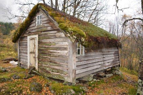 UKJEND: Hytta til Nikolai Astrup har vore ukjend for dei fleste fram til no. Astrup skal ha nytta hytta som rekreasjonsstad.