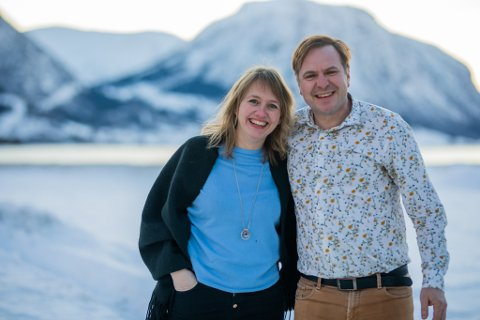 KLAR FOR VESTLAND: Gunhild Berge Stang og Alfred Verlo får begge plassane til Venstre i fylkestinget.