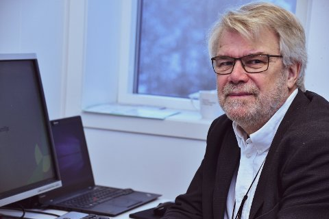 VER OBS: – Ikkje la deg lure, identiteten din på nett er gull verdt, seier sikkerheitssjef Svein Mobakken i Skatteetaten.