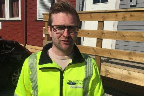 PROSJEKTLEIAR: Kjell Johnny Kvamme er prosjektleiar og dagleg leiar for Jølstra Kraft DA som er byggherrre for kraftutbygginga i Jølster.