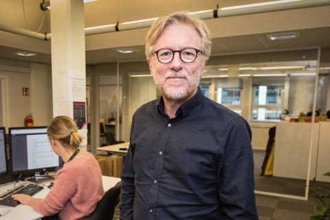 DIGITAL SATSING: – Vi jobbar kontinuerleg for å styrke det digitale tilbodet til lesarane våre, seier Kai Aage Perdersen, ansvarleg redaktør i Firda Media AS.