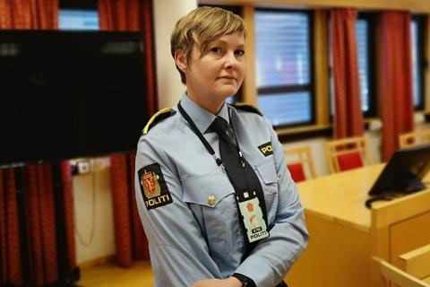 I RETTEN: Politiadvokat Inger-Lise Høyland.